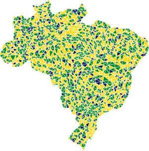 Map Of Brasil by aperitivi