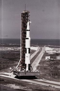 Apollo 10 on Top of Saturn Five