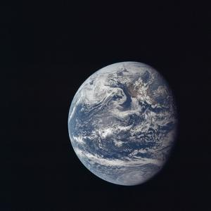 Apollo 11 Earth View from Space, July 17, 1969