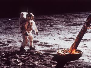 Apollo 11 Lunar Modul, Moon Walk