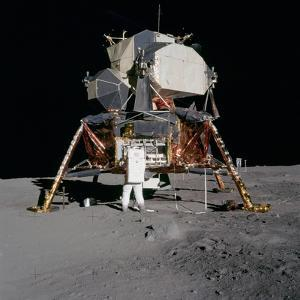 Apollo 11 Lunar Module on the Moon's Surface, July 20, 1969