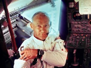 Apollo 11 Lunar Module Pilot Edwin Aldrin During the Lunar Mission, July 20, 1969