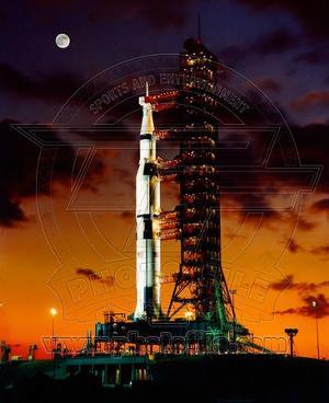 Apollo 11 Saturn V Space Vehicle