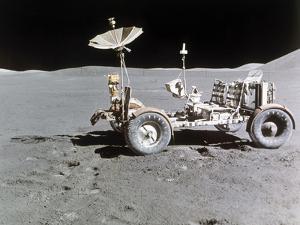 Apollo 15 Moon Surface 1971