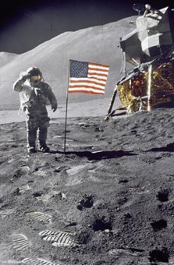 Apollo 15 Salute