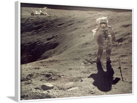 Apollo 16--Framed Photographic Print