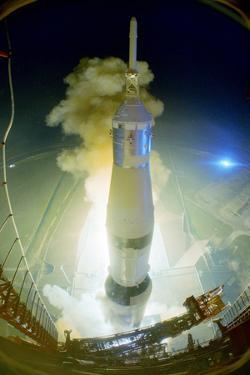 Apollo 17 Blasting Off