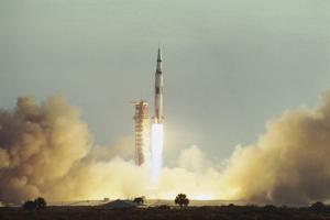 Apollo 8 Blasting Off