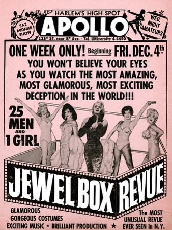 Apollo Theatre Jewel Box Revue: Gorgeous and Glamorous, 25 Men and 1 Girl