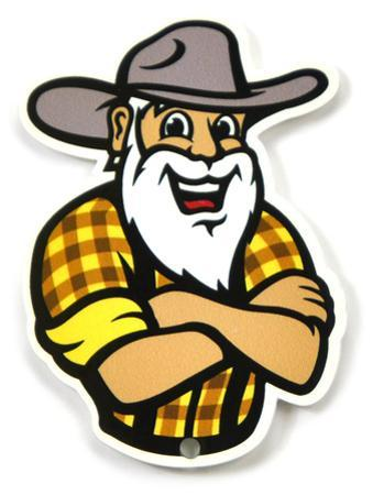 Appalachian State Mountaineers Youth Yosef Steel Magnet