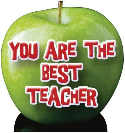 Apple - You Are the Best Teacher Lifesize Standup