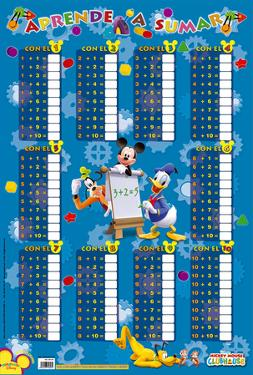 Aprende A Sumar-Mickey