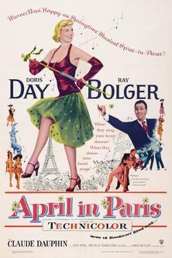 April in Paris, Doris Day, Ray Bolger, 1953
