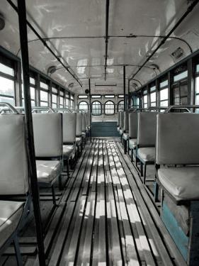 Inside of Bengali Bus by April Maciborka