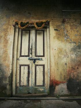 Old Wooden Door by April Maciborka
