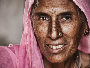 Portrait of Elderly Lad by April Maciborka