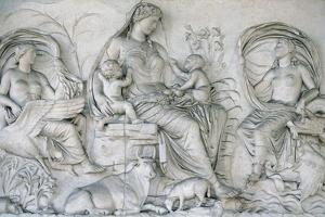 Ara Pacis Augustae. Tellus Panel