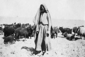 Arab Shepherd, Kazimain Area, Iraq, 1917-1919