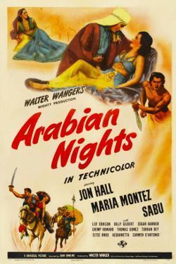 Arabian Nights, 1942, Poster Art