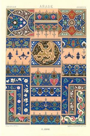 Arabic Tile Design