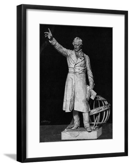 Arago (Statue)--Framed Giclee Print