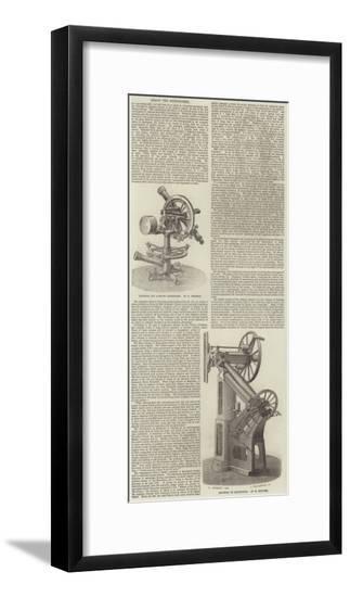 Arago the Astronomer--Framed Giclee Print