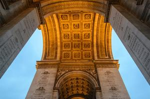 Arc De Triomphe of Paris