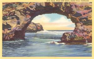 Arch Rock, Santa Cruz, California