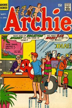 Archie Comics Retro: Archie Comic Book Cover No.194 (Aged)