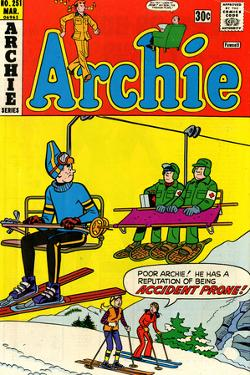 Archie Comics Retro: Archie Comic Book Cover No.251 (Aged)