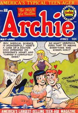 Archie Comics Retro: Archie Comic Book Cover No.68 (Aged)