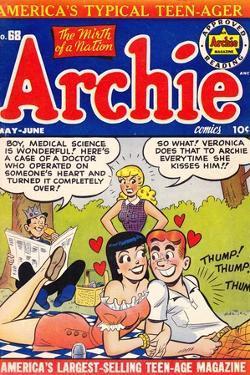 Archie Comics Retro: Archie Comic Book Cover No.68 (Aged)