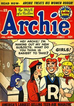 Archie Comics Retro: Archie Comic Book Cover No.69 (Aged)