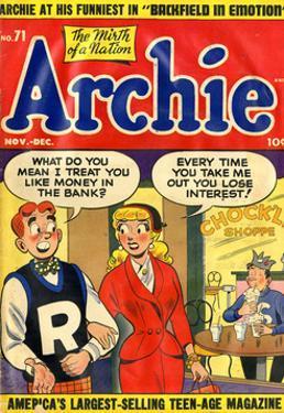 Archie Comics Retro: Archie Comic Book Cover No.71 (Aged)