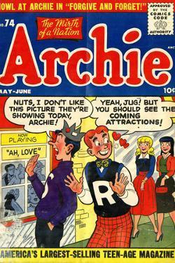 Archie Comics Retro: Archie Comic Book Cover No.74 (Aged)