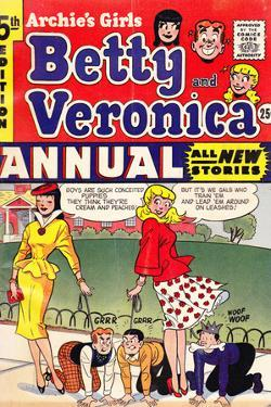 Archie Comics Retro: Archie's Girls Betty and Veronica Annual Comic Book Cover 5th Edition (Aged)