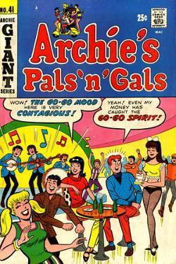 Archie Comics Retro: Archie's Pals 'n' Gals Comic Book Cover No.41 (Aged)