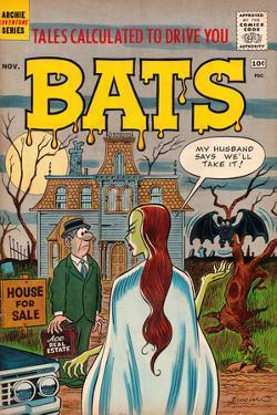 Archie Comics Retro: Bats Comic Book Cover (Aged)