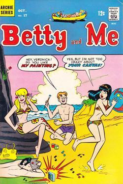 Archie Comics Retro: Betty and Me Comic Book Cover No.17 (Aged)