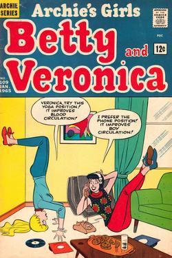 Archie Comics Retro: Betty and Veronica Comic Book Cover No.109 (Aged)