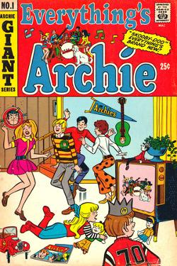 Archie Comics Retro: Everything's Archie Comic Book Cover No.1 (Aged)
