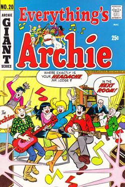 Archie Comics Retro: Everything's Archie Comic Book Cover No.20 (Aged)