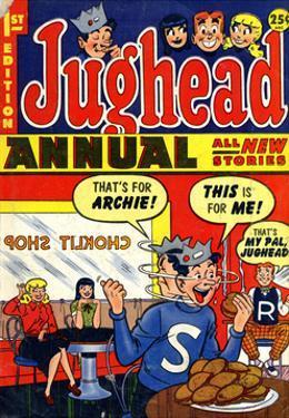 Archie Comics Retro: Jughead Annual Comic Book Cover No.1 (Aged)