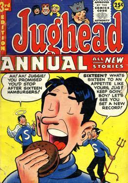 Archie Comics Retro: Jughead Annual Comic Book Cover No.3 (Aged)