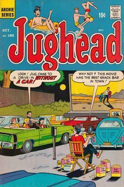 Archie Comics Retro: Jughead Comic Book Cover No.185 (Aged)