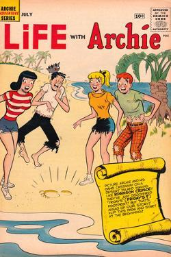 Archie Comics Retro: Life With Archie Comic Book Cover No.3 (Aged)