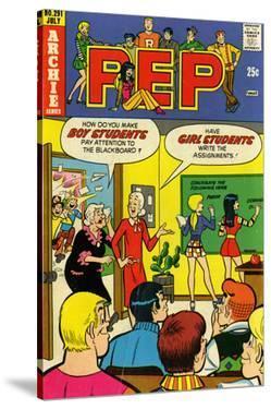 Archie Comics Retro: Pep Comic Book Cover No.291 (Aged)