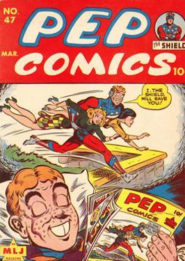 Archie Comics Retro: Pep Comic Book Cover No.47 (Aged)