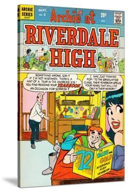 Archie Comics Retro: Riverdale High Comic Book Cover No.2 (Aged)
