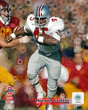 Archie Griffin Ohio State University Buckeyes 1973 Action